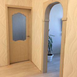Установка арки и межкомнатной двери в новостройке