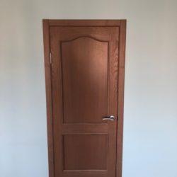 Установка восстановленных дверей